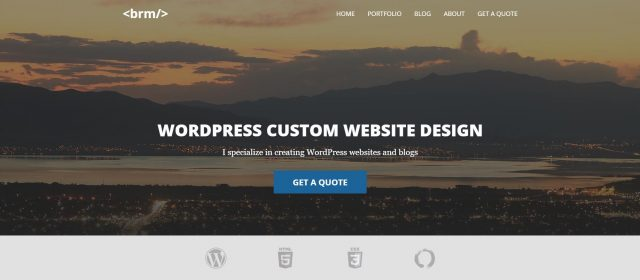 custom wordpress theme development utah